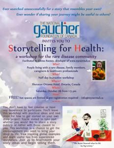 Storytelling for Health