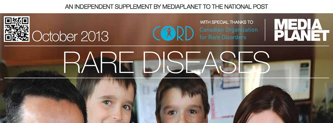 Rare Diseases – As Featured in National Post