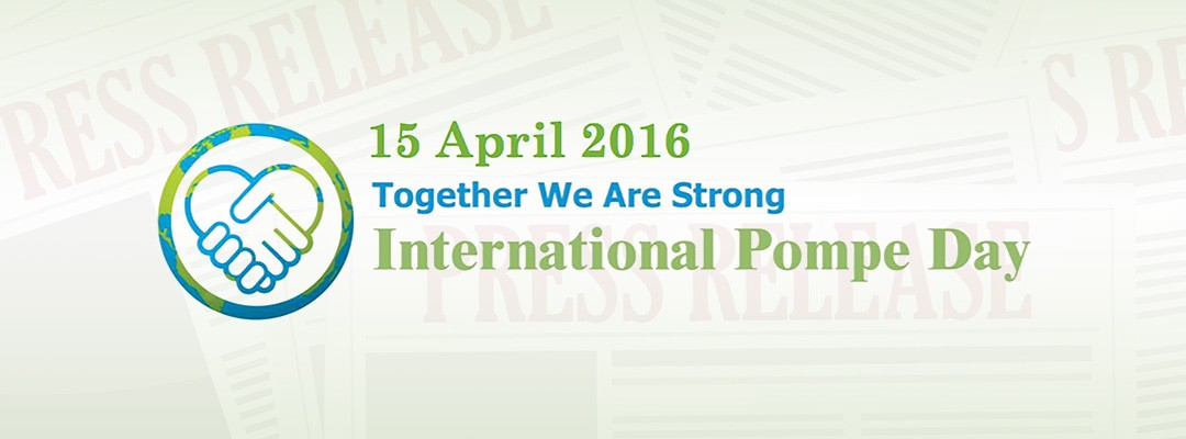 Third Annual International Pompe Day