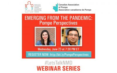 Emerging From the Pandemic: Pompe Perspectives