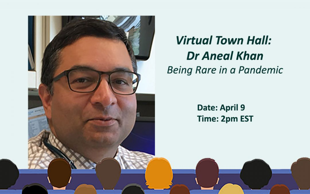 Virtual Town Hall: Being Rare in a Pandemic